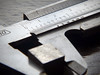 Half Inch (Andrew Gustar) Tags: 117picturesin2017 vernier calipers half inch cube steel scale
