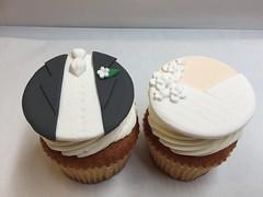 Bride Cupcake: $ 8.25 each Groom Cupcake: $ 11.25 each