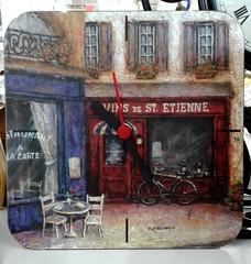 Vins de St-Etienne (Jacques Trempe 2,920K hits - Merci-Thanks) Tags: horloge clock temps time heure hour vin stetienne