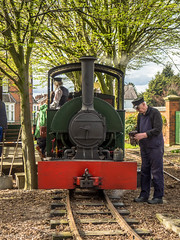 "Bagnall 2087 ""Leonard"" (Ben Matthews1992) Tags: 1919 bagnall 00st saddle tank loco locomotive narrow gauge british britai abbey pumping station leicester leicestershire 2087 leonard old historic preserved preservation vehicle transport 2017 steam train engine"