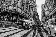 Crosswalk (Mario Rasso) Tags: mariorasso nikond810 newyork manhattan usa raining woman
