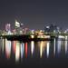 SaiGon cityscape by night