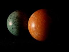 2 Planets (dorotheazinsser) Tags: macromondays sidelit planets