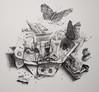 Transformation - pen and ink (ArtFrames) Tags: illustration art drawing pen ink
