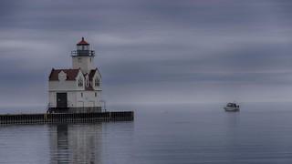 Foggy Lighthouse Visit  ***Explored 10/13/17***