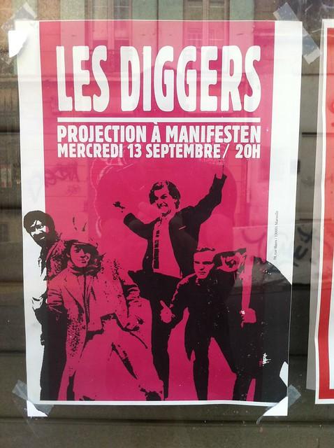 les diggers Manifesten