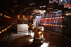 Man Mo temple (Patrick Foto ;)) Tags: ancient asia belief buddha buddhism buddhist burn ceiling china chinese coil culture east faith fire fortune history hong hongkong hope incense interior kong light luck man meditation mo monument offering oriental pray prayer ray red religion religious scent shrine smell smoke stick success temple tourism tourist travel wealth wish worship worshiping hongkongisland hk