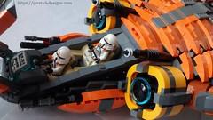 6 (Jorstad Designs) Tags: lego star wars jorstad designs custom dropship phantom halo ucs moc
