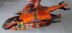 10 (Jorstad Designs) Tags: lego star wars jorstad designs custom dropship phantom halo ucs moc