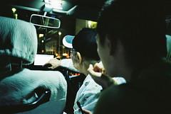 (埃德溫 ourutopia) Tags: film kodak colorplus kodakcolorplus200 kodak200 yashica t2 t3 t4 t5 filmphotography analog analogphotography guy man men car taxi driver driving night naha okinawa 那覇 沖縄 フィルム