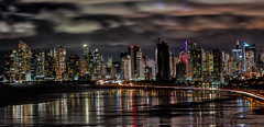 Panama Nights (Bernai Velarde-Light Seeker) Tags: panama city urban longexposure cityscape sea ocean pacific waterfront buildings apartments centralamerica bernai velarde