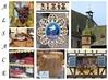 Alsace (Anke knipst) Tags: elsass alsace collage storch storck hansi weintrauben grapes gugelhupf cake kougelhopf honigkuchen blumen dach roof window flowers fenster