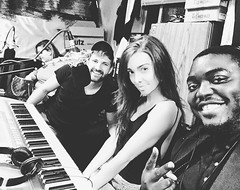 Zoey Tess LIVE PPRN Radio Show (hollywoodupdates101) Tags: zoeytess zoey tess music radio show live celebrity celeb acoustic famous jazz tabloid brunette blues connecticut media studio podcast sexy guitar singer recording hot interview new pprn piano