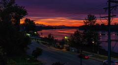 First good sunrise of the season. (rog45) Tags: rog45 canada bc mapleridge fraserriverporthaney mtbaker canon sunrise 40d f42470 abigfave diamondclassphotographer explore
