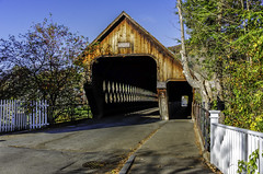 Woodstock Vermont Middle Bridge 21 2017 (Chad Straw Images) Tags: fall autumn foliage vermont woodstockvermont newengland travel traveling travelphotography color discover earth amazing beautiful landscape landscapes landscapephotography nikon nikonphotography nikond610 america country countryliving yankeemagazine wonderful wonderfulplaces bridge coveredbridge woodenbridge photography unitedstates