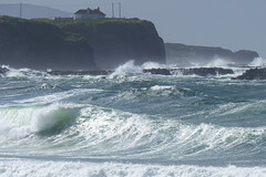 Rough Sea (ivlys) Tags: nordirland northernirleand countyantrim portrush atlantik atlantic meer sea rau rough wellen waves hafen harbour landschaft landscape natur nature ivlys
