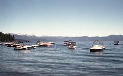 detour429 (dannondale) Tags: bicycletouring laketahoe boats nikonf2 35mmfilm kodak kodakfilm expiredfilm kodakgold california shootfilm