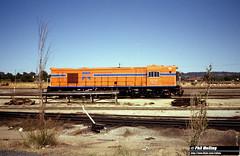 2566 RA1912 Forrestfield Loco Depot 13 December 1981 (RailWA) Tags: railwa philmelling westrail 1981 ra1912 forrestfield loco depot