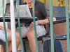 IMG_2073 (CAHairyBear) Tags: men man hom homme hombre uomo bulge