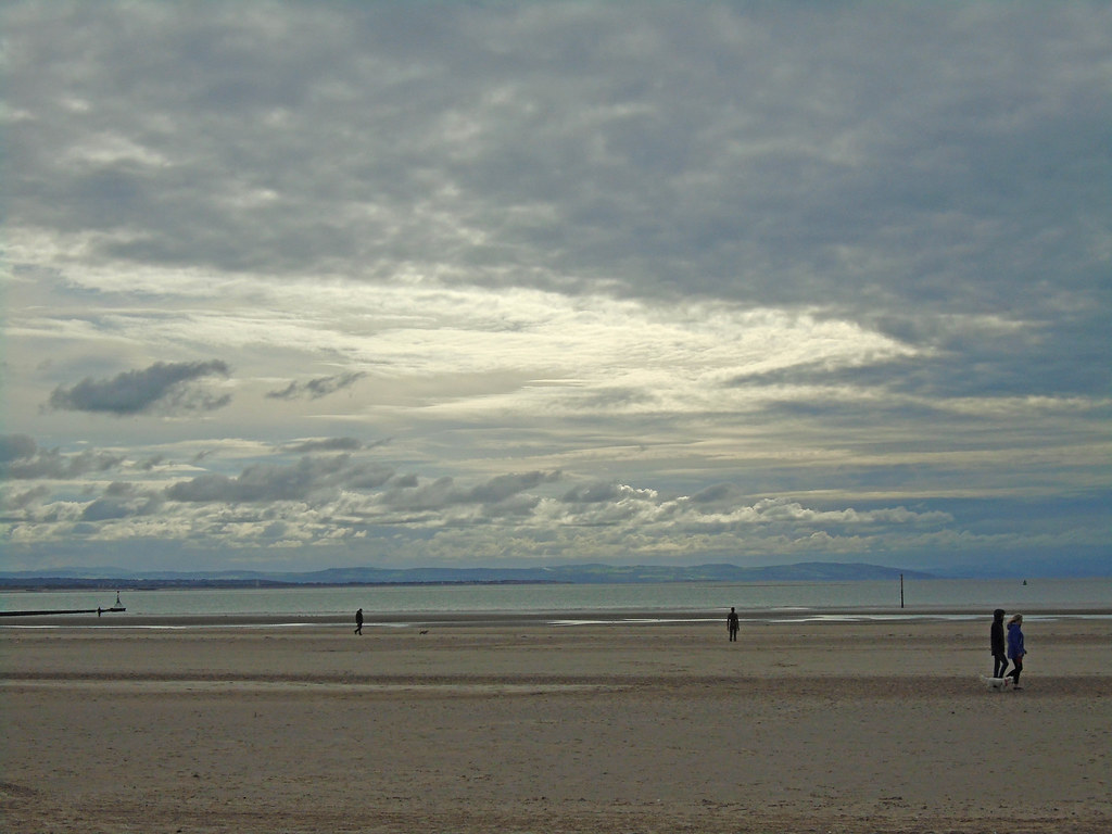 Crosby Beach, Liverpool UK