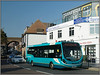 Arriva 4280, Strood (Jason 87030) Tags: gn14dxy 4280 kentsurrey medway southerncountis arrive streetlite shite wright bus wrightbus blue aquq turquoise orthst street roadside august 2017 sunny light weather afternoon 191 maritime chatham talk pork fleet service route uk town traffic publictransport sony ilce alpha a6000 nex lens tag fave group album wheels