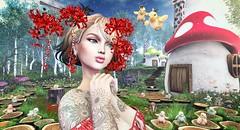 Spider Lily (clau.dagger) Tags: naminoke accessories ccb matsuri {yourdreams} {yd} secondlife fantasy house wasabipills insol volutptasvirtualis catwa maitreya white~widow anc stormwood hpmd skye lyrium