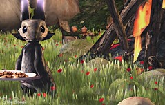 The Cookie Thief - 10/2017 (IvoryBouscario) Tags: sl secondlife avatar creature critter animal fantasy virtual photo pic picture