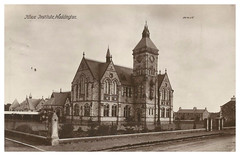 The Knox Institute, Haddington, 1883. (Paris-Roubaix) Tags: knox institute haddington east lothian antique postcards scotland vintage scottish