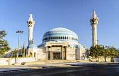 Blu come il cielo, d'oro come il sole (forastico) Tags: forastico d7000 amman giordania moschea blu reabdullah