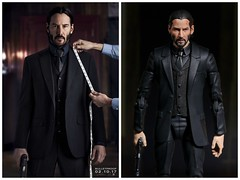 John Wick's night suit (kevchan1103) Tags: john wick chapter 2 keanu reeves custom head sculpt headsculpt marvel legends toys action figure