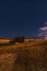 Night fields (runovv) Tags: caucasus armenia armenian night sky longexposure stars moon milkyway mountains