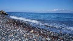 Plaja pe partea nordica