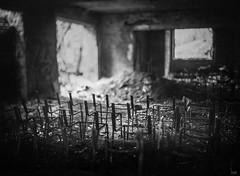 The Audience Is Gone (*altglas*) Tags: lostplace old forgotten decay verfall ruin ruine mentorpanorama 13x18 aeroektar fomapan100 rodinal150 bw schwarzweis grosformat largeformat 5x7 film analog