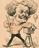 (luigisperanza) Tags: various nadar pseudonym gaspardfélix tournachon 1820 1910 french photographer caricaturist journalist novelist balloonist after a 19th century caricature by andre gill lithograph france culture history historical andré lithography stock notpersonality 34007038