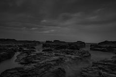 Kiama Overcast Evening (jeelnaic) Tags: aus australia kiama 2017 spring blackandwhite