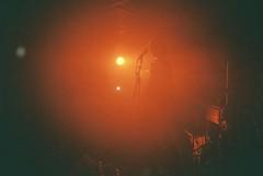 Kold Front (subway rat) Tags: 35mm film analog olympus μmjuii olympusmjuii mjuii mju2 copenhagen denmark københavn danmark filmforever filmisnotdead filmphotography filmcamera shootfilm ishootfilm staybrokeshootfilm agfavista400 vista400 agfa concert music darkwave koldfront live gig spillestedet stengade nørrebro danish band