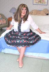 Janeflorskrt-001 (fionaxxcd) Tags: cd tg ts ladyboy drag femmeboi mtf m2f transvestite tranny trannie crossdresser crossdressing xdresser xdressing petticoats balletshoes rednail redlips bust tights