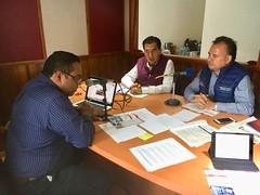 "nformamos la apertura del Programa MAS Oaxaca ""Macrosector San Juan Chapultepec"", sintoniza la entrevista 105.7FM Stereo Cristal."