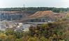 the rock quarry (Dotsy McCurly) Tags: rock quarry nj newjersey landscape trees trucks autumn colors hazy nikond750 tamron18400mmf3563 7dwf nature beautiful