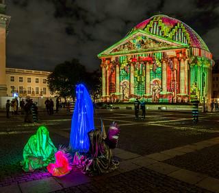 St. Hedwigskathedrale / Bebelplatz / Festival Of Lights Berlin 2017
