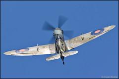 Supermarine Spitfire Mk.XVIE (Pavel Vanka) Tags: supermarine spitfire mkxvie lkpd pardubice airshow czechrepublic aviationfair plane airplane spotting aircraft fly spot flying warbird
