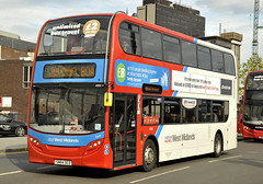 SN64OCD National Express West Midlands 4960 (martin 65) Tags: westmidlands e400 enviro400 enviro 400 alx400 scania road transport travel public warwickshire group express birmingham bus buses national