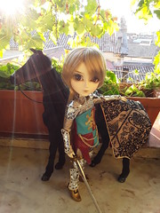 Descabalgando (Lunalila1) Tags: llegadas taeyang doll groove twilight destiny juan molina snowwithe series horse 16 scale prince