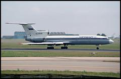 RA-85236 - Copenhagen Kastrup (CPH) 30.05.1993 (Jakob_DK) Tags: 1993 tupolev tupolev154 tupolev154b tupolev154b1 tu154 tu154b tu154b1 careless cph ekch flyvergrillen copenhagenkastrup pulkovo pulkovoaviation pulkovoavia aeroflot