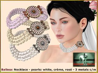 Bliensen - Balboa - Necklace