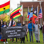 "<b>Homecoming Parade</b><br/> The international students assossiation and allies ISAA celebrated the diversity at Luther College by walking the homecoming 2017 parade. October 7 2017. Photo by Hasan Essam Muhammad<a href=""http://farm5.static.flickr.com/4494/37755937761_e25e976181_o.jpg"" title=""High res"">∝</a>"
