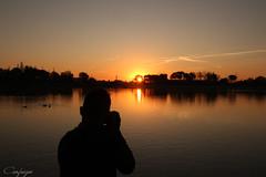 Cazador cazado... (cienfuegos84) Tags: amanecer sol sun water sky