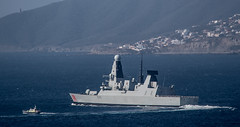 HMS Dragon, Bay of Gibraltar (David Parody) Tags: