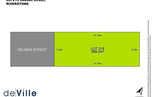 Lot 215, 38 Reuben Street, Riverstone NSW