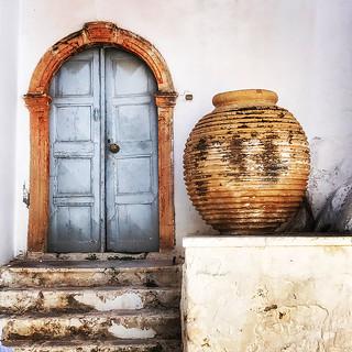 doorway and pot